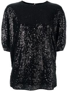 sequin embellished blouse Victoria Victoria Beckham