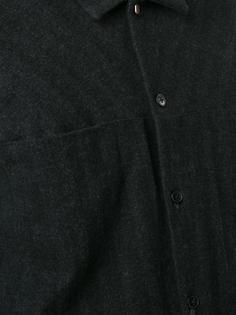 рубашка с необработанными краями Ma+
