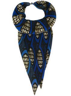 плиссированный шарф Issey Miyake