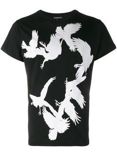футболка с принтом птиц Ann Demeulemeester