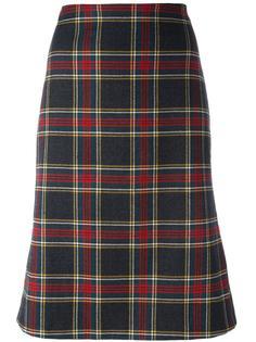 tartan skirt  Moschino Vintage