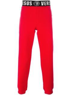 printed waist track pants  Versus