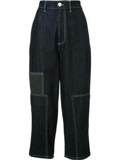 укороченные джинсовые брюки Marni