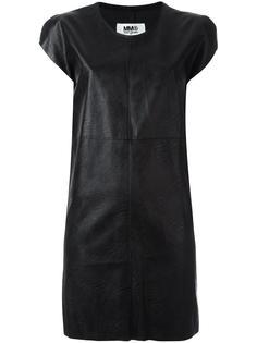 короткое платье с панельным дизайном Mm6 Maison Margiela