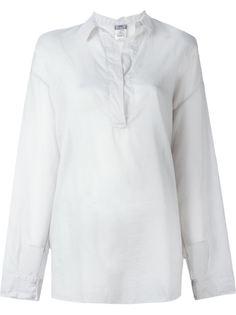 прозрачная блузка на пуговицах Kristensen Du Nord