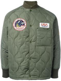 стеганая куртка с нашивками Joyrich