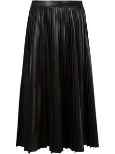 плиссированная юбка А-силуэта Alexander Wang