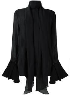 блузка с рукавами-колокол Ellery