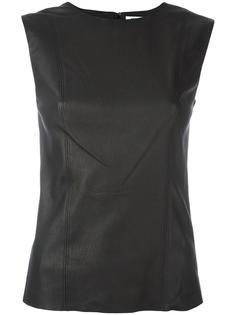 leather tank Helmut Lang