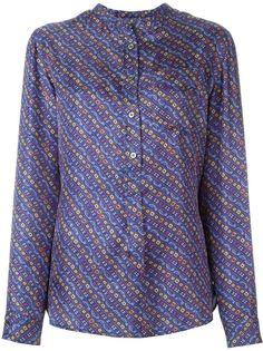 рубашка с воротником мандарин Isabel Marant