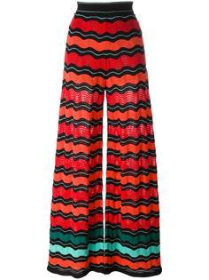 брюки палаццо с эластичным поясом M Missoni