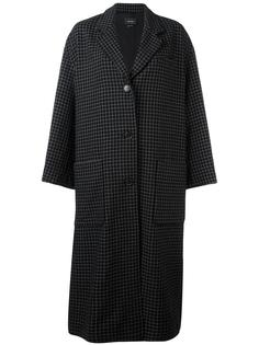 пальто в клетку Isabel Marant