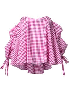 checked blouse Caroline Constas