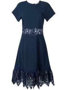 cut-off detailing flared dress Jonathan Simkhai