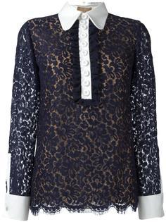 кружевная блузка Michael Kors
