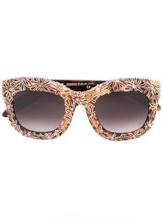 солнцезащитные очки с цветочным принтом Kuboraum