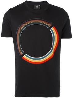 футболка с принтом круга Ps By Paul Smith