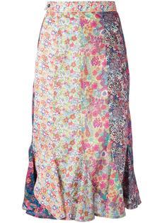 рубашка с цветочным принтом Olympia Le-Tan