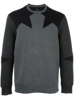 geometric insert sweatshirt Neil Barrett