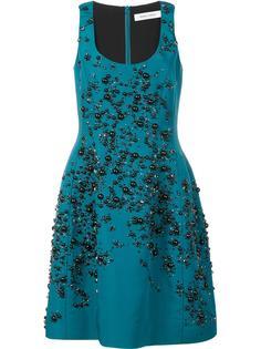 платье с вышивкой Prabal Gurung
