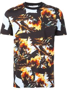 футболка с принтом-коллажем Givenchy