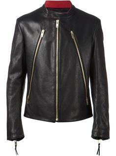 байкерская куртка на молнии Maison Margiela