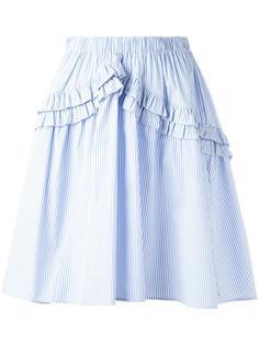 А-образная юбка в полоску Nº21