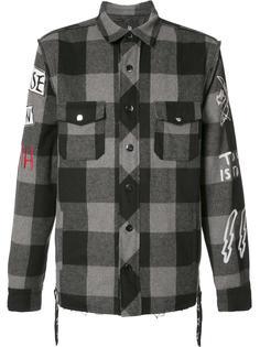 куртка-рубашка в клетку Haculla