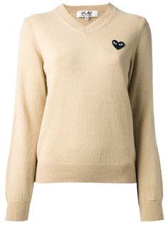 свитер с вышитым логотипом Comme Des Garçons Play
