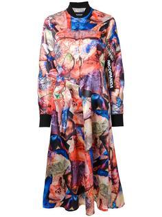 платье бомбер с принтом Nicopanda