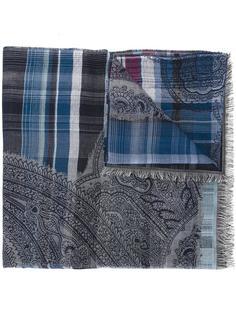 шарф в клетку Etro