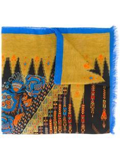 платок с абстрактным принтом Etro