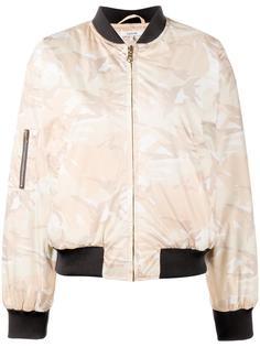 camouflage bomber jacket Ganni