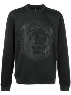 lion print sweatshirt  Versus