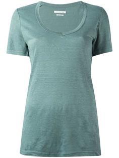 футболка с U-образным вырезом Isabel Marant Étoile