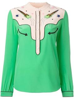 embellished rocket shirt  Coach