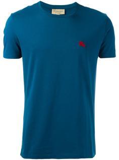 футболка с вышивкой логотипа Burberry