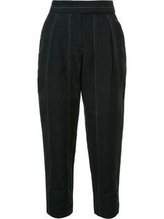 брюки с завышенной талией Brunello Cucinelli