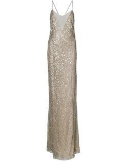 платье с открытой спиной Galvan