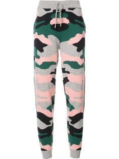 спортивные брюки с принтом в стиле милитари Chinti And Parker