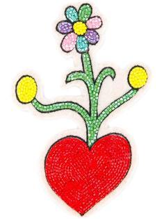 заплатка на липучке в виде цветка Olympia Le-Tan