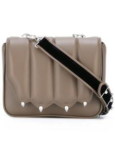 сумка через плечо с заклепками Marco De Vincenzo