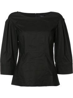 блузка с рукавами-колокол Derek Lam