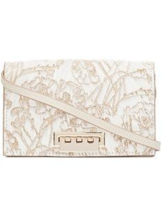 сумка через плечо с цветочным узором Zac Zac Posen
