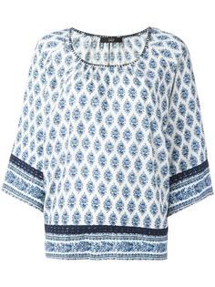 persian print blouse Steffen Schraut