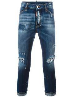 джинсы 'Glam Head' с потертой отделкой Dsquared2