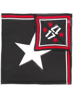 шарф с принтом звезд Givenchy Vintage