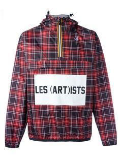 куртка 'Leon Check' с капюшоном Les (Art)Ists