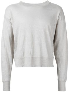укороченный свитер свободного кроя Isabel Marant Étoile