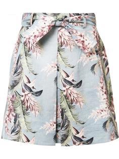 юбка А-силуэта с цветочным принтом Zimmermann